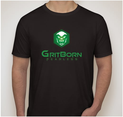 Gritborn Tactical T-Shirts with Colored Logo | Gritborn Tactical Gear