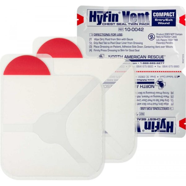 Hyfin Chest Seal Compact open