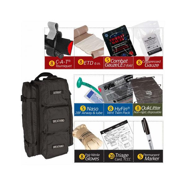 MCI Walk Kits | Mass Casualty Incident Warrior Aid Litter Kits 2