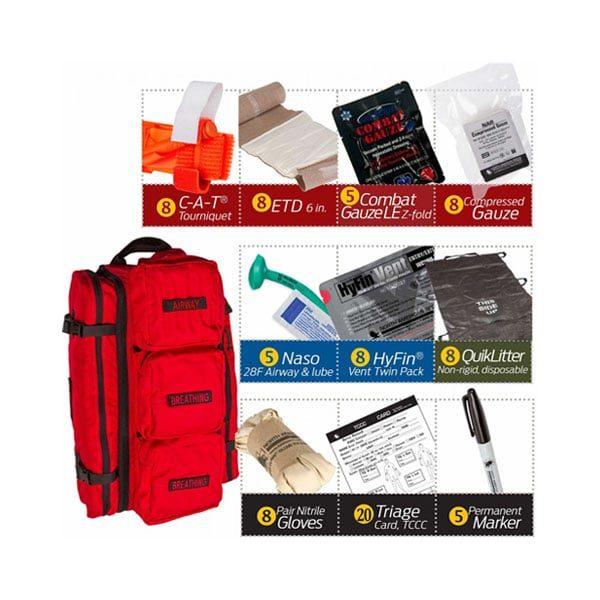 MCI Walk Kits | Mass Casualty Incident Warrior Aid Litter Kits