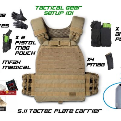 Tactical Gear Package 101