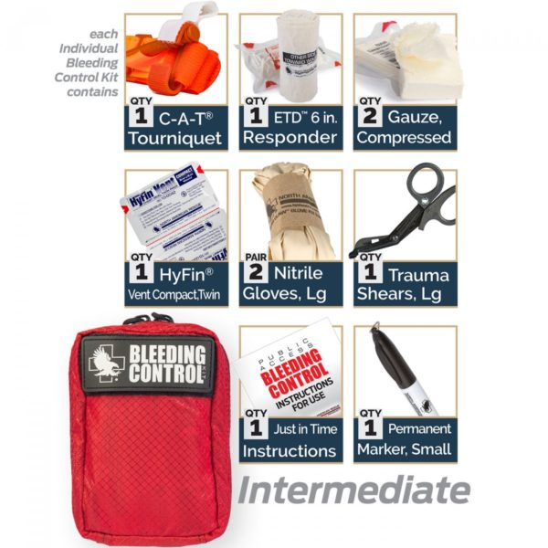 Individual Public Access Bleeding Control Stations Intermediate