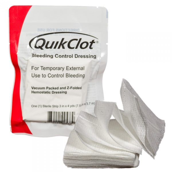 QuikClot Bleeding Control Dressings