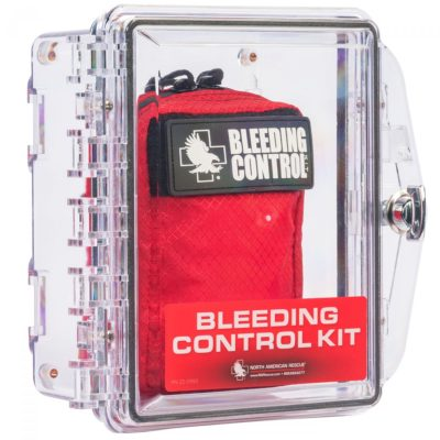 Individual Public Access Bleeding Control Stations